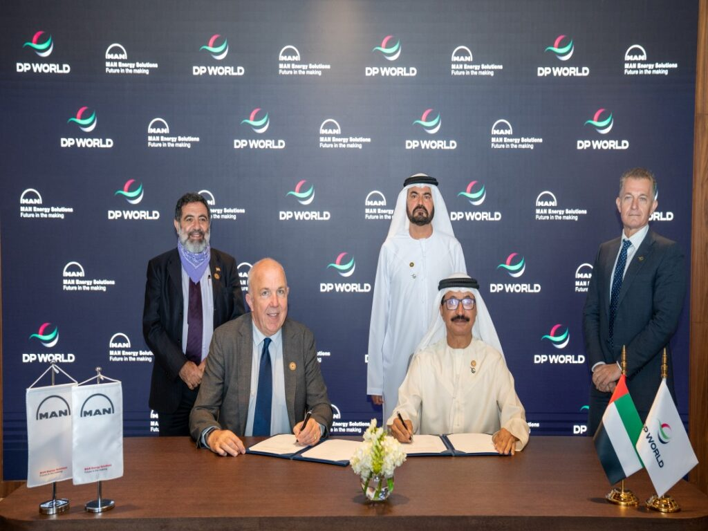 MAN Energy Solutions and DP World Sign Cooperation Agreement